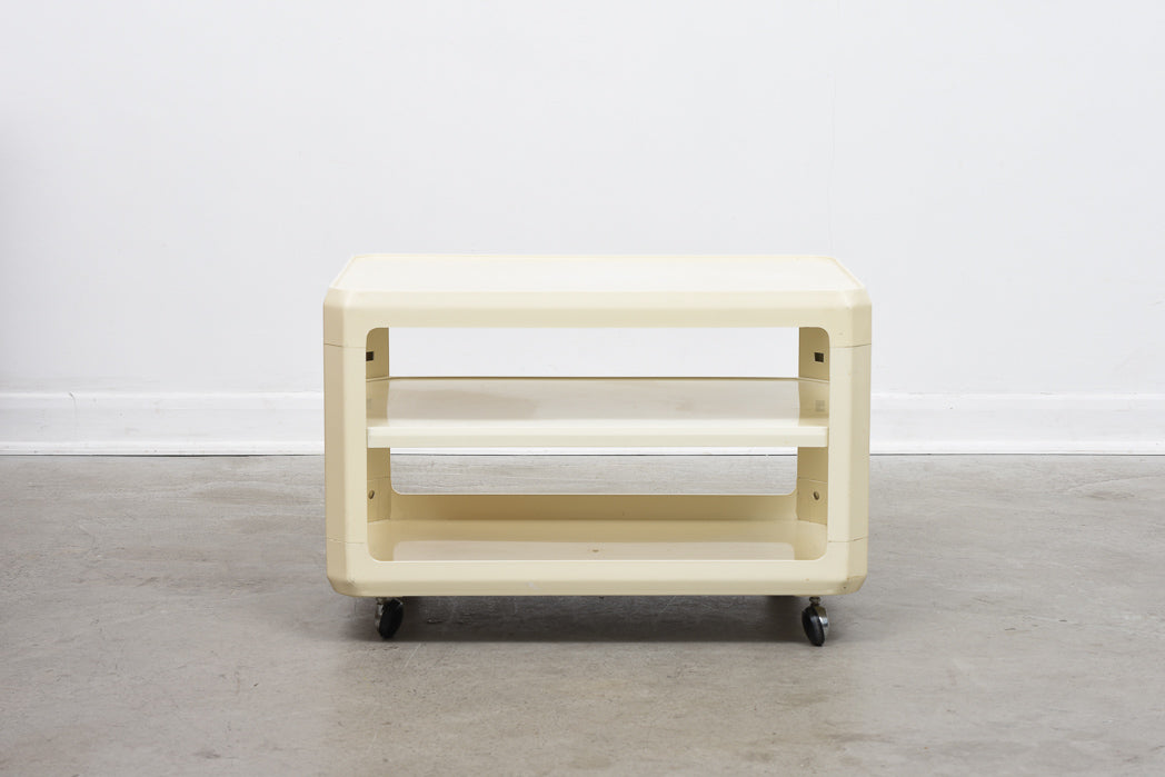Coffee table by Alberto Rosselli for Kartell/Husqvarna