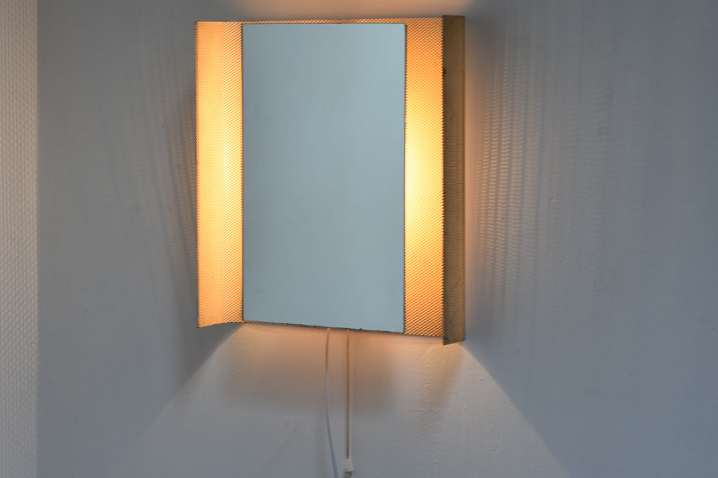 1950s illuminated mirror by Mathieu Matégot