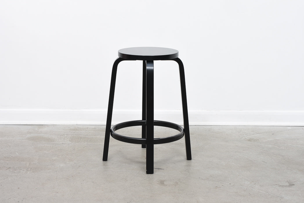 Four available: Kitchen/counter stools by Alvar Aalto