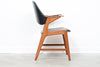 LeneJune18 1960s teak armchair with curved back