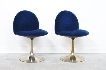 Two available: 1970s swivel chairs