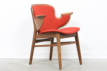 1950s beech occasional chair