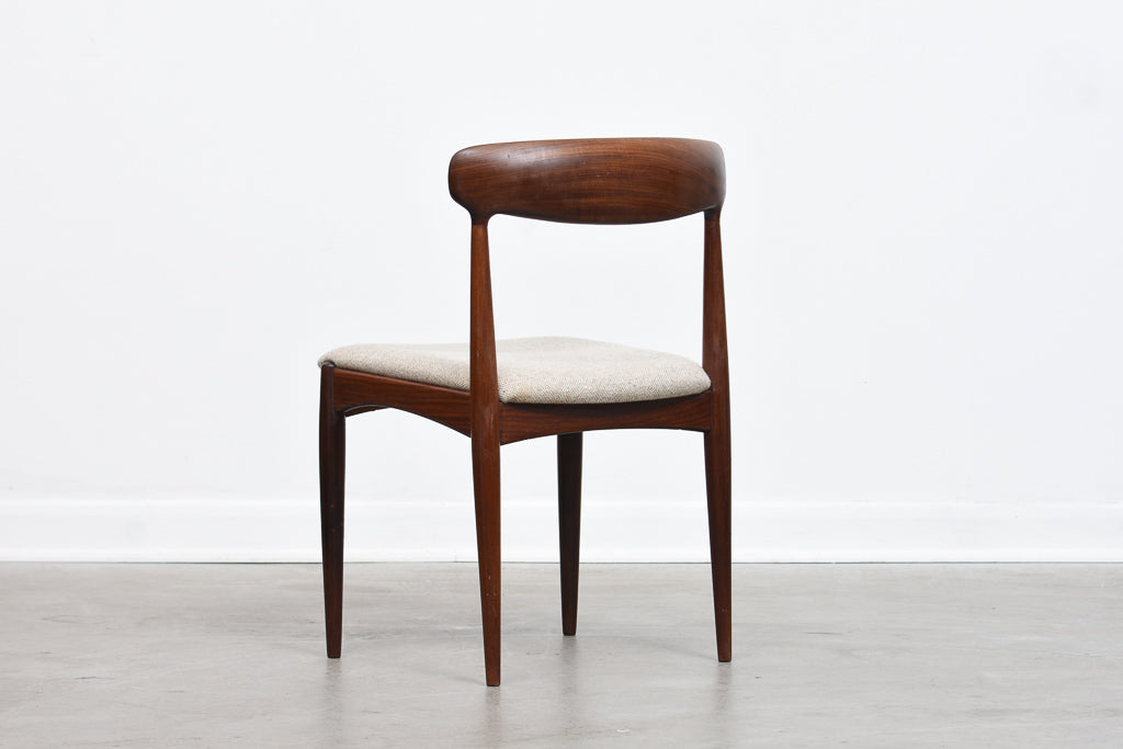 Set of four teak chairs by Johannes Andersen