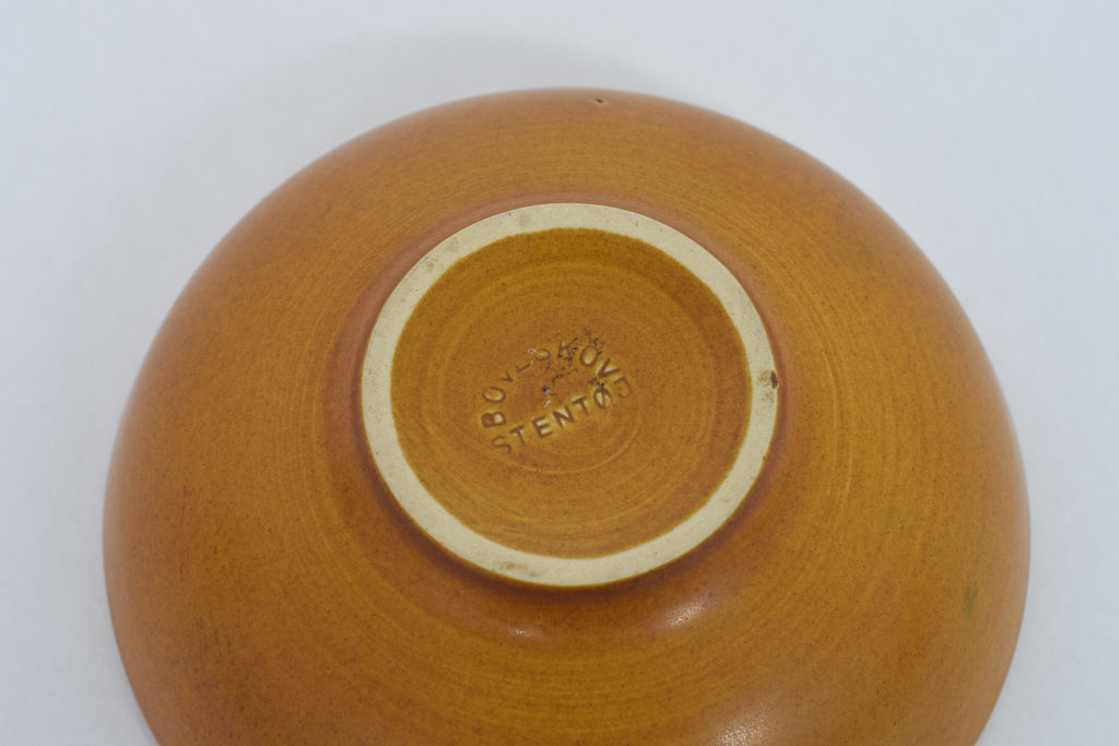 Ceramic bowl by Gunnar Nylund for Boveskov Stentøj