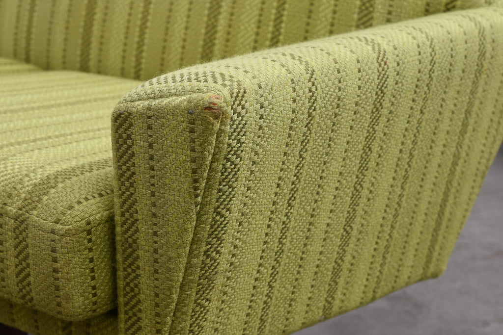 1960s wool three seater