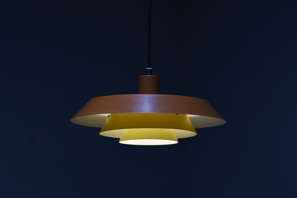 Troika ceiling lamp by Bent Karlby