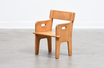 Vintage 'Peter's Chair' by Hans Wegner