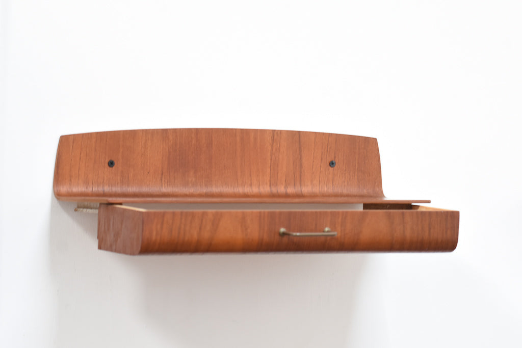 Two available: Teak floating drawers by PT