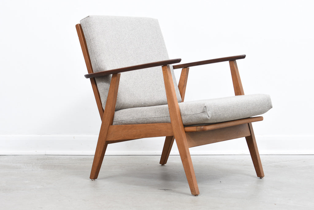 KarstenJuly18 Danish lounger in teak + oak