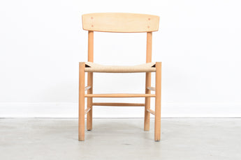 Oak chair by Børge Mogensen
