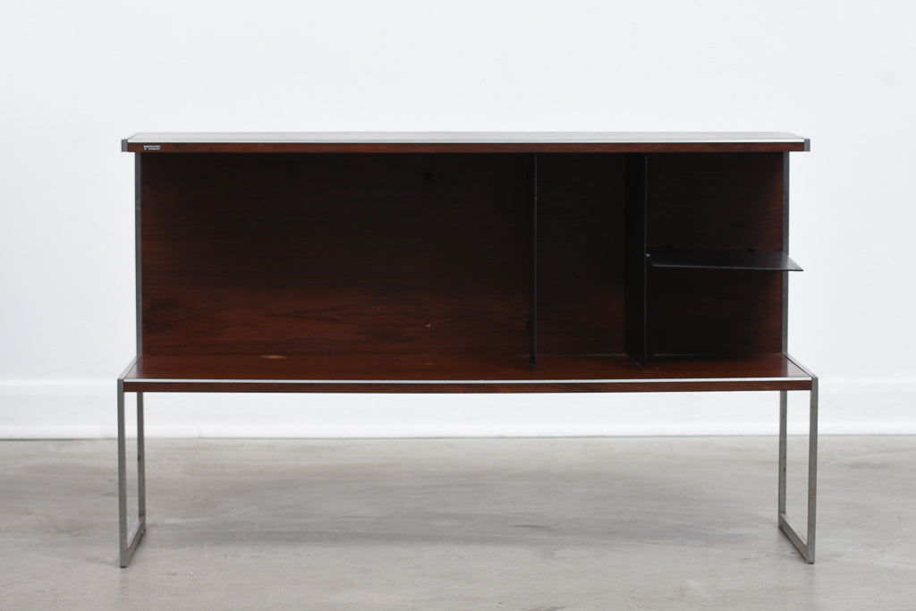 Rosewood media cabinet by Bang & Olufsen