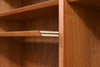 Large teak bookshelf by Poul Hundevad