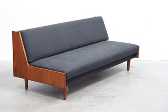 1960s sofa bed in teak