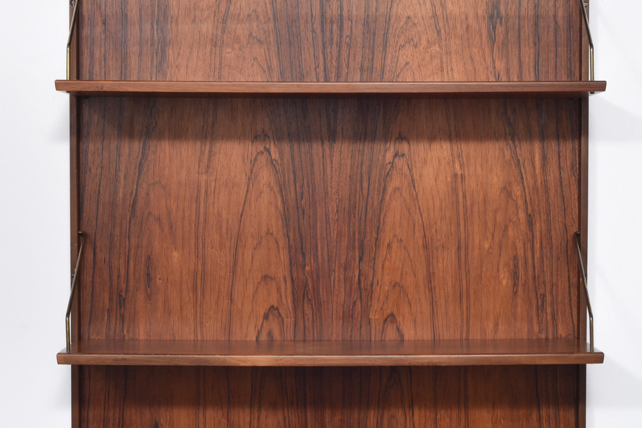Rosewood wall unit
