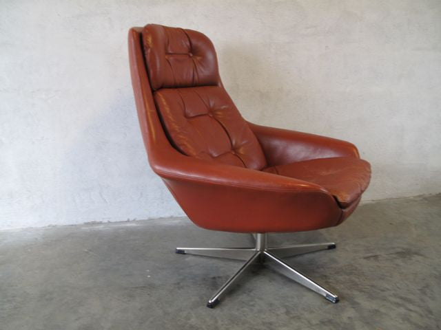 Chase & Sorensen Swivel chair by H.W. Klein