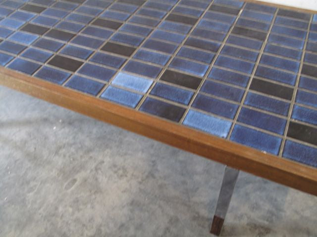 Chase & Sorensen Tiled coffee table