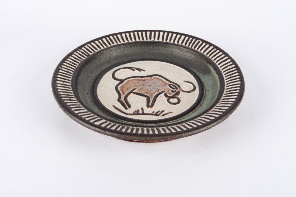 Plate by Kingo Keramik