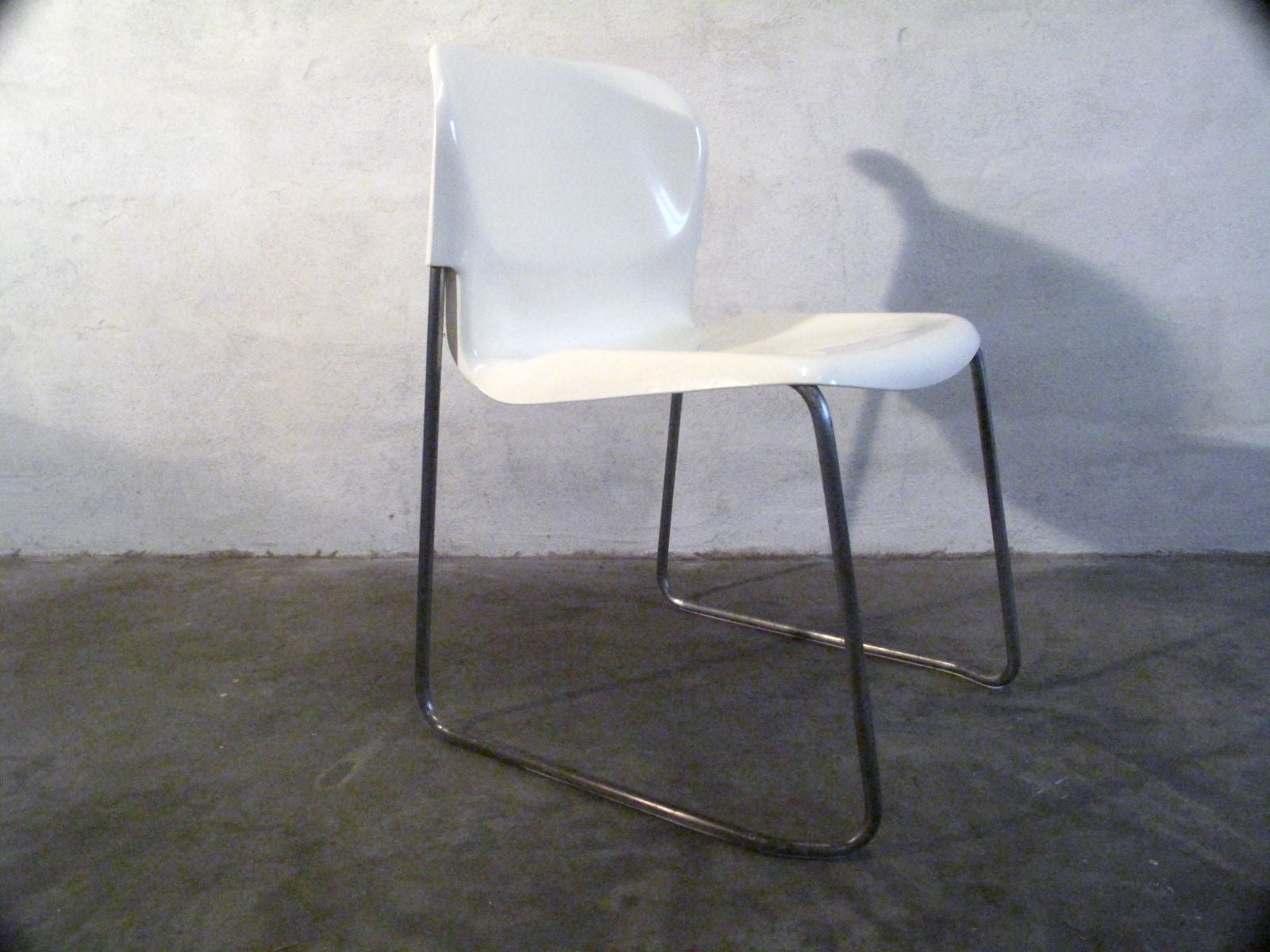 "Chase & Sorensen Set of Four SM400 ""Swing"" Chairs by Gerd Lange"