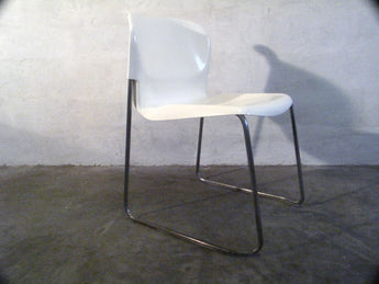 "Set of Four SM400 ""Swing"" Chairs by Gerd Lange"