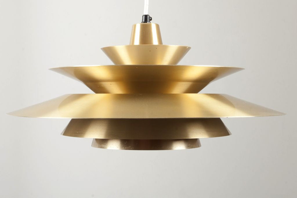 Brass ceiling lamp no .1