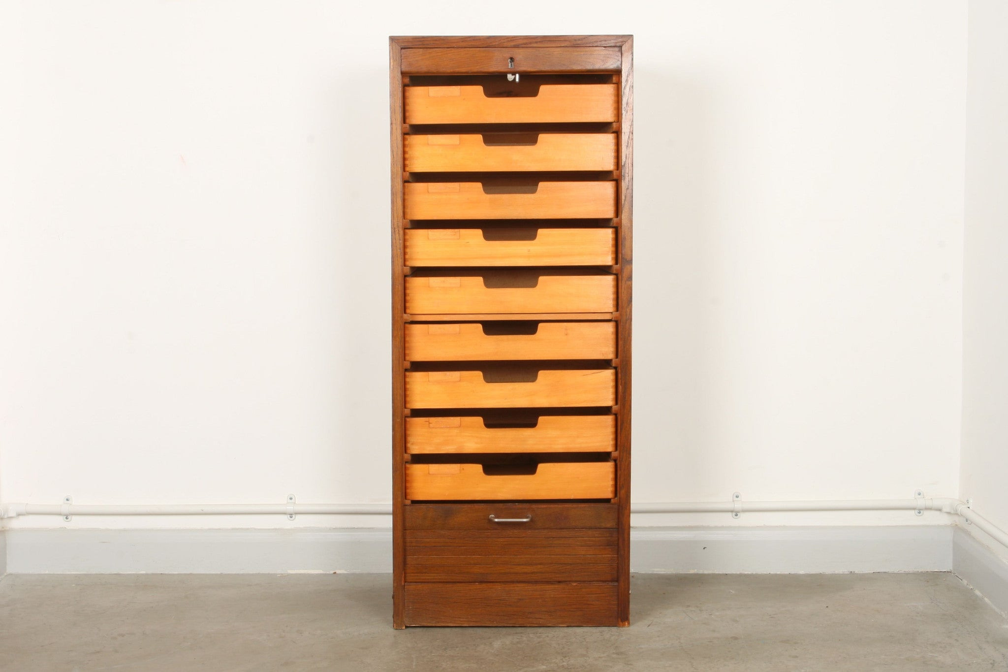 Oak / birch filing unit