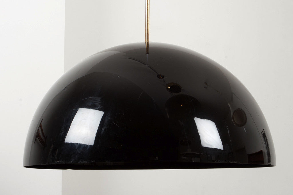Dome ceiling lamp