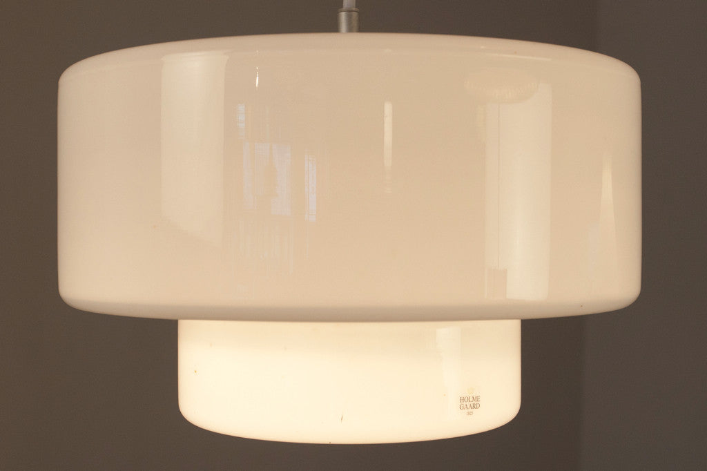 Holmeg̴rd glass ceiling lamp