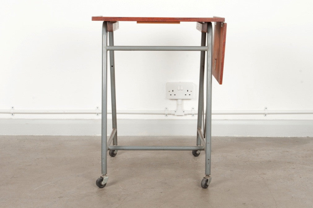 1950s typists' desk trolley