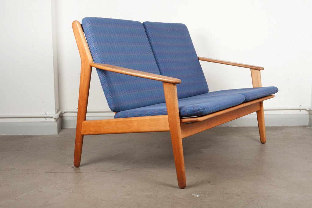 Two seat sofa by Poul M. Volther
