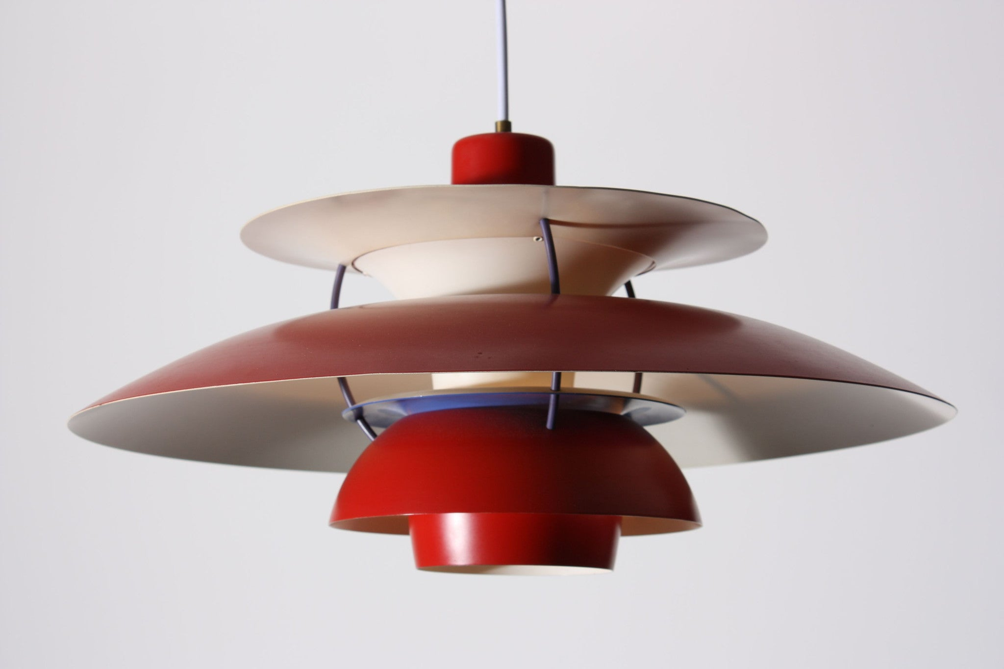 Red PH-5 ceiling lamp