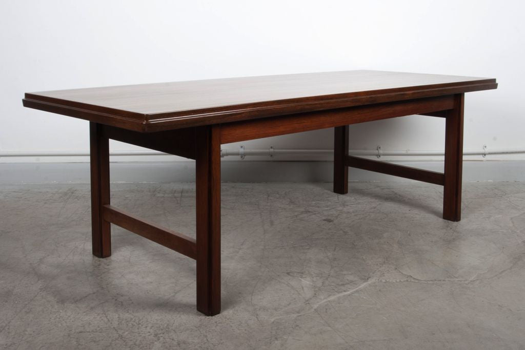 Chase & Sorensen Rosewood coffee table