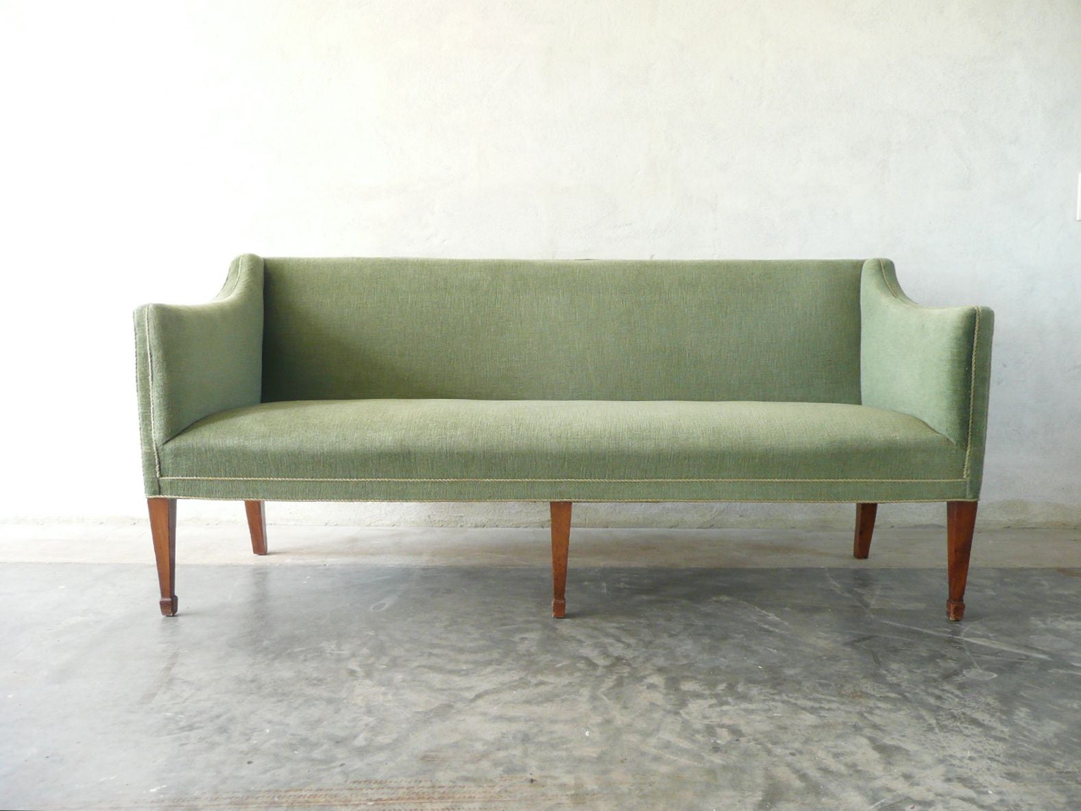 Chase & Sorensen 1940s three seat sofa