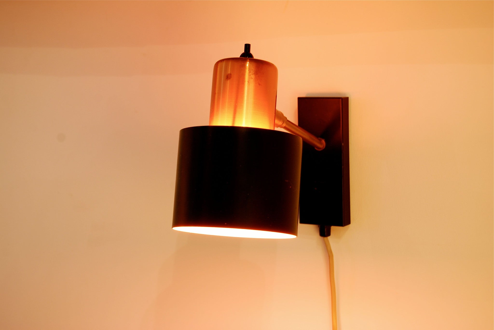 Pair of wall lamps by Jo Hammerborg for Fog & MÌürup