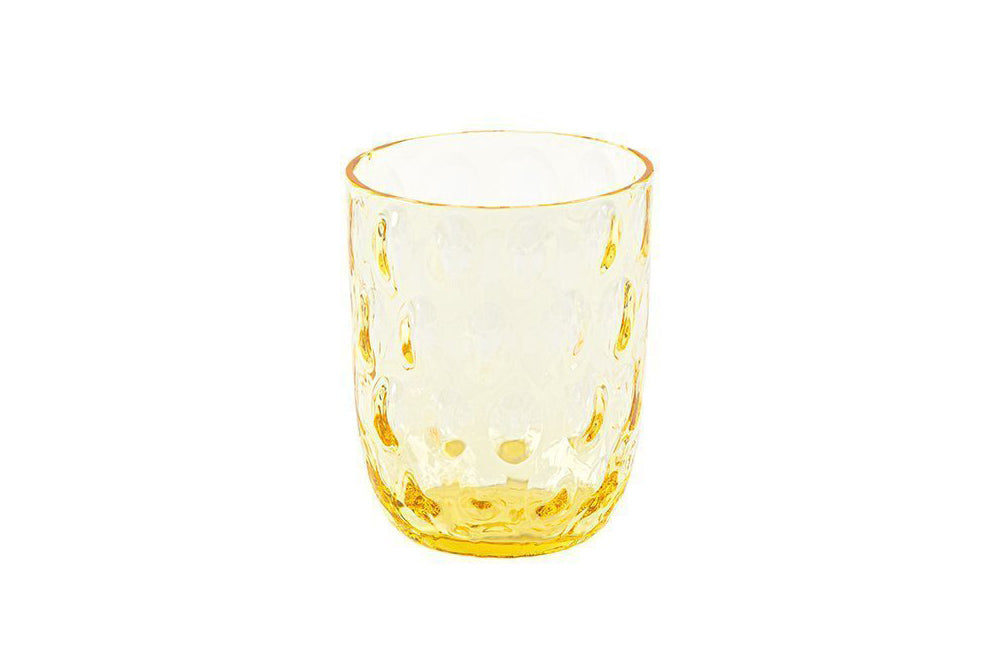 Danish Summer Tumbler Glass - Yellow