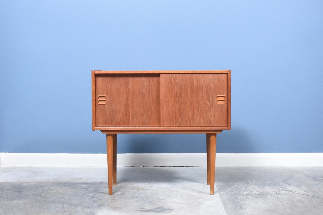Short teak sideboard