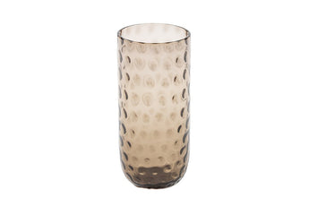 Danish Summer Highball Glass - Black Smoke