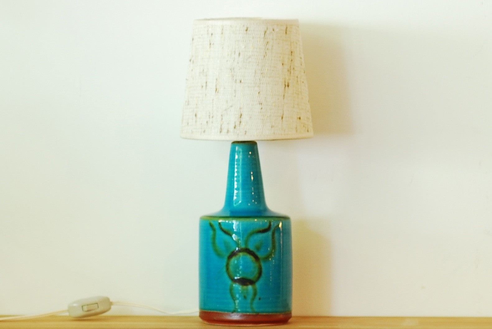 Table lamp by Einar Johansen for Søholm
