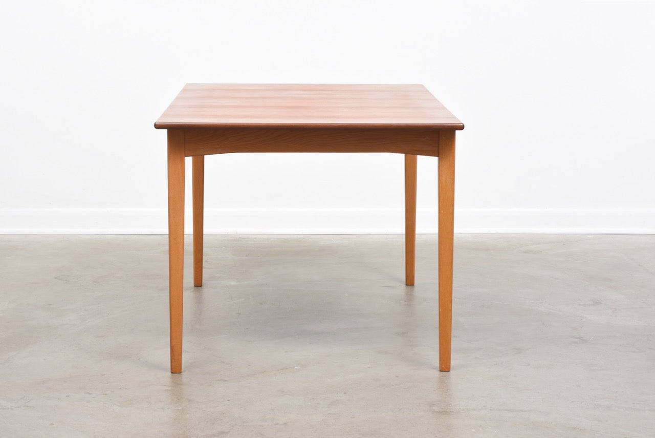 1960s Swedish teak dining table