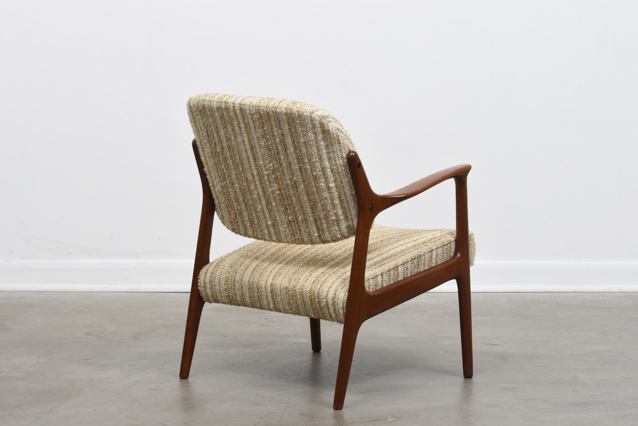 New upholstery included: 'Domus' lounge chairs by Inge Andersson