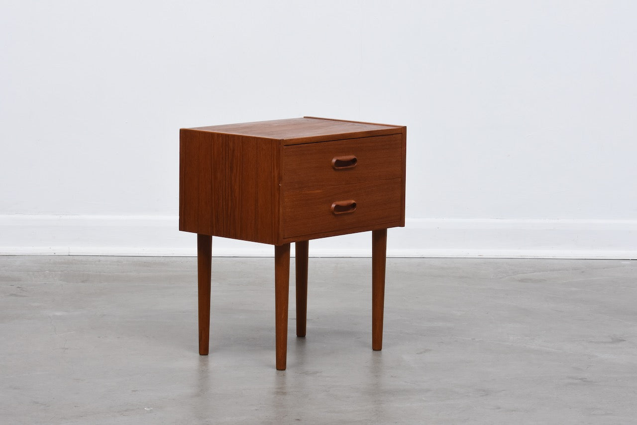 1960s teak bedside table