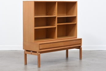 1960s bookshelf in oak by Eric Wørts