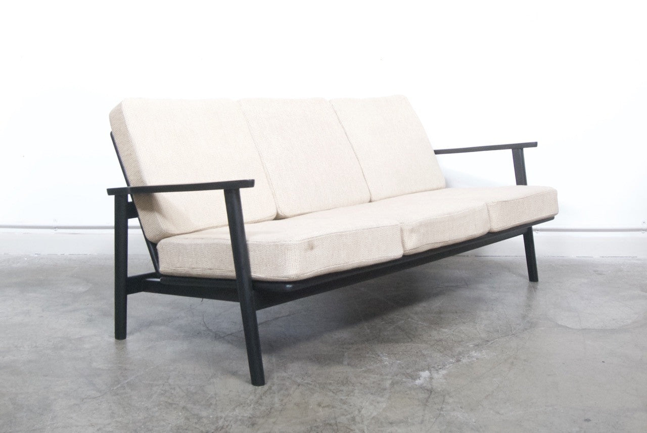 Not specified Beech three seat sofa