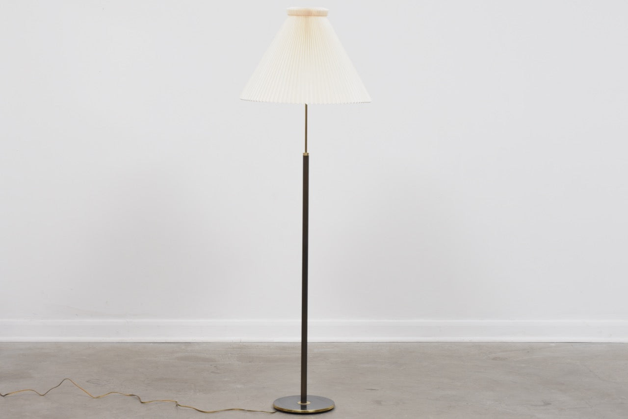 Vintage floor lamp + shade by Le Klint