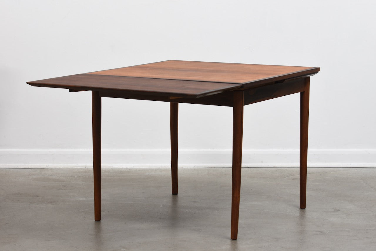 1960s extending dining table in rosewood