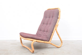 1960s bamboo lounger