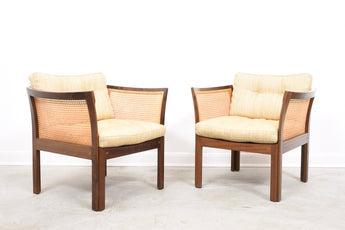 Two available: Plexus lounge chairs by Illum Wikkelsø