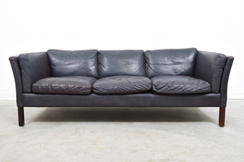 Vintage three seat sofa by Stouby