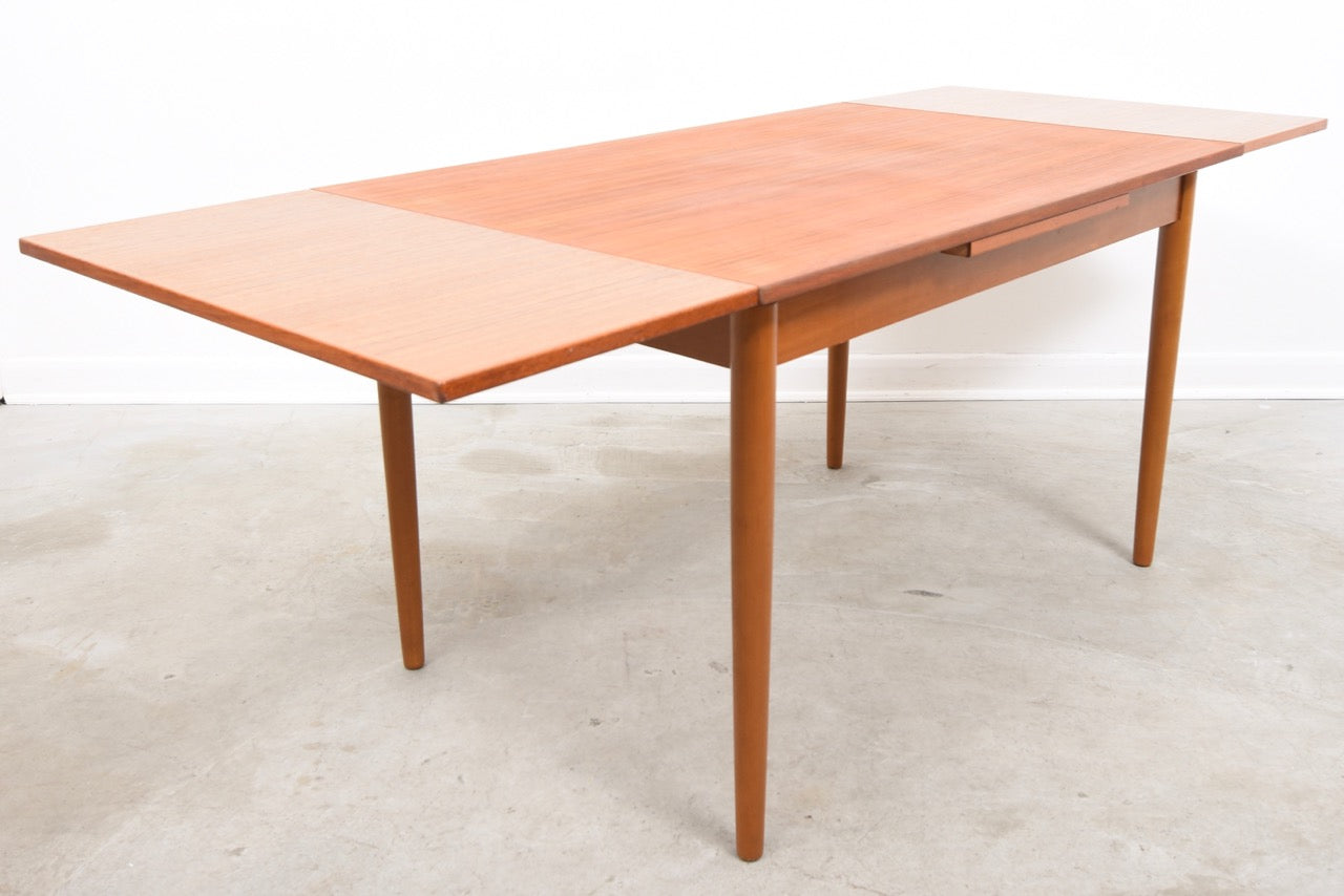 Extending dining table by Farstrup