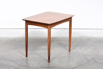 Rosewood side table by Møbelintarsia