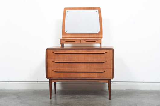 1950s Danish dresser by Johannes Andersen in teak
